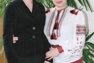 """Лідія Поречкіна в редакції газети """"Сільські вісті"""""""