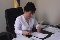 Лідія Поречкіна на робочому місці заступника міністра МВС
